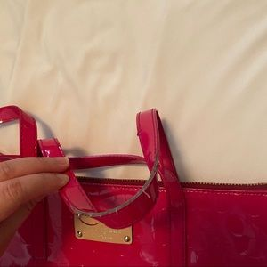 kate spade Bags - Kate Spade Patent Leather Dot Embossed Tote
